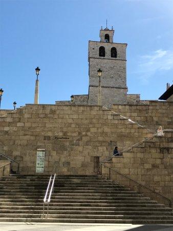 Cathedral Santander: Torre de la Catedral de Santander.