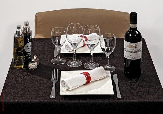 Cirò: La table