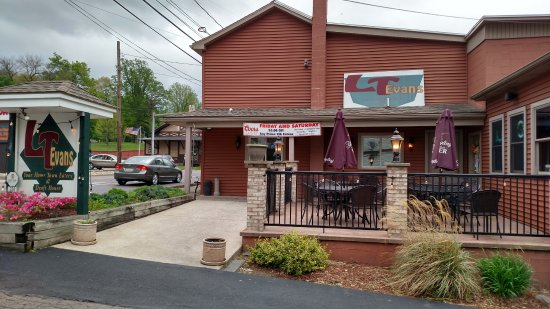 Danville, Pennsylvanie : outdoor seating