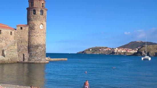 Elne, Francia: Paysage de notre côtes