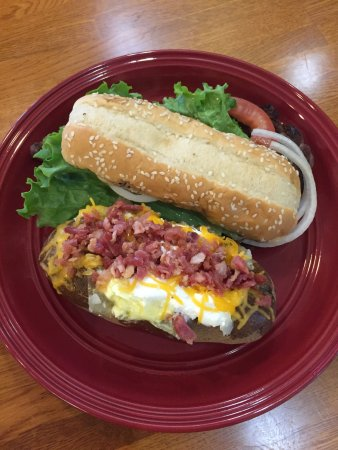 Athens, AL: Our ribeye steak sandwich is a customer favorite.