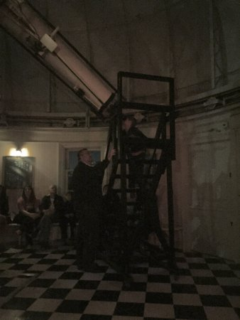 Naval Observatory : Old telescope