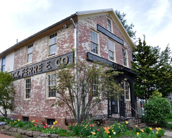 Wethersfield, CT: Comstock Ferre & Company - Exterior, Closeup of Seed Building