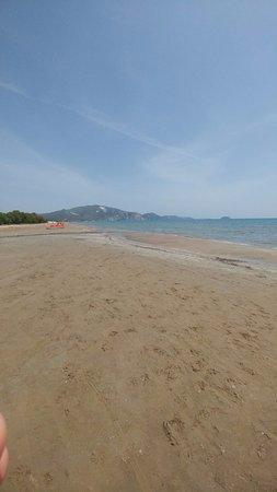 Het strand van Laganas Beach