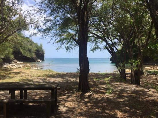 Villa Pomme d'Amour: Private cove for relaxing and snorkeling