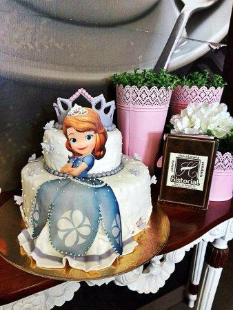 Cake Design Princesa Sofia Picture Of Pastelaria Historial