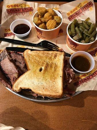 Aiken, SC: Two meat plate