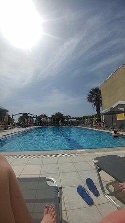 Het zwemband van Janno beach