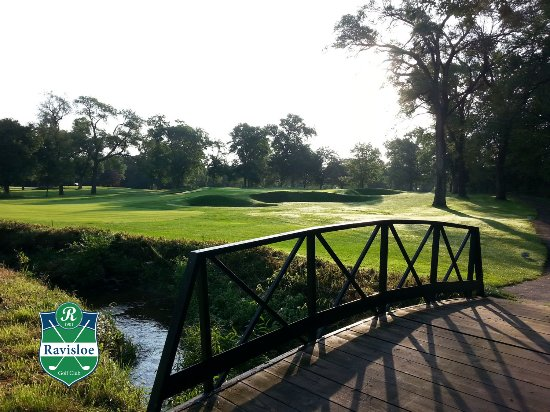 Homewood, IL: Over the bridge on Hole 15