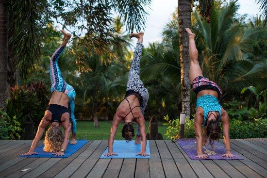 Pavones, Κόστα Ρίκα: Yoga deck