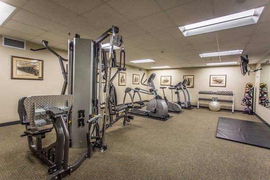 Ironworks Hotel: Fitness Center
