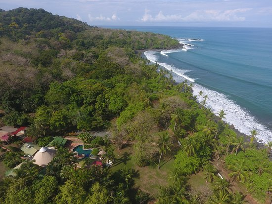 Pavones, Kosta Rika: Overview of Rancho Cannatella Beach