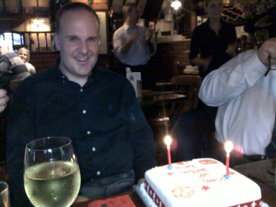 Bilsborrow, UK: 40th birthday 2011