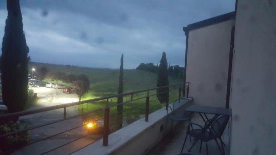 Casanova Pansarine, Italy: Foto dalla camera al tramonto