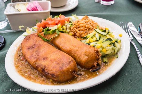 Chimayo, نيو مكسيكو: Rancho de Chimayo - Chile Rellenos
