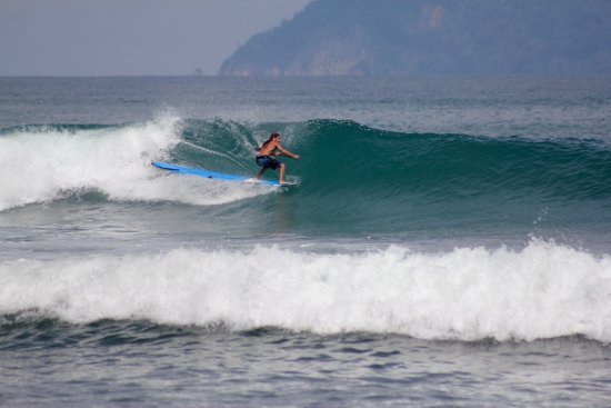 Pavones, Costa Rica: Stand-Up Paddle Boarding the waves out front