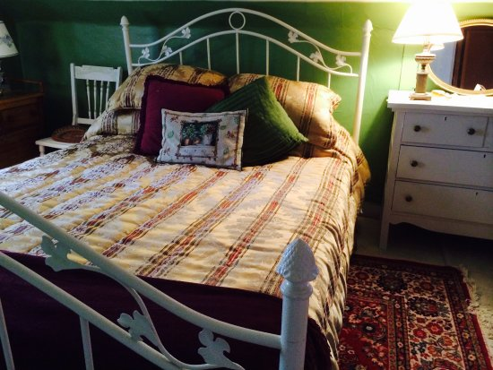 Clinton, Nova York: Bedroom with Queen size bed