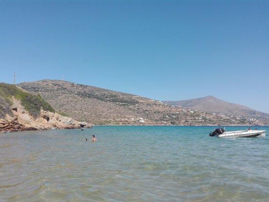 Gavrio, Grèce : Παραλία Χρυσή Άμμος