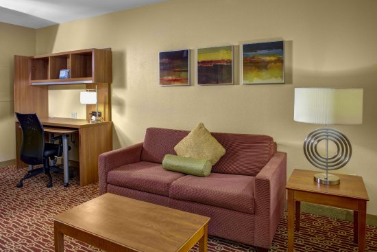 TownePlace Suites Cincinnati Blue Ash: Living Area