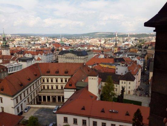 Brno, Czech Republic: A view from Church