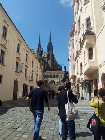 Brno, Czech Republic: nice view from one of the old streets