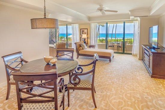 Grand Hyatt Kauai Resort Spa Ocean Suite Living Room