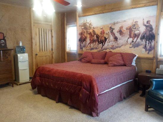 Notom Ranch Bed & Breakfast: Robbers Roost room