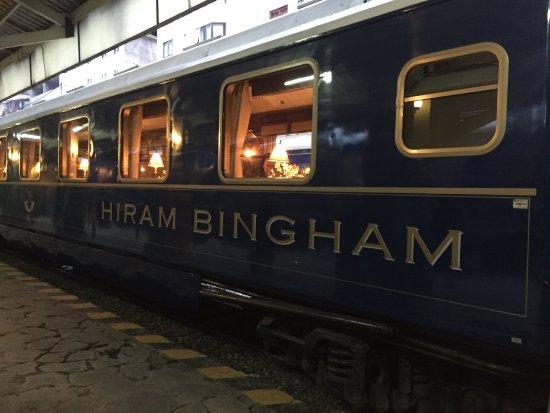 Train Hiram Bingham : Tren Hiram Bingham