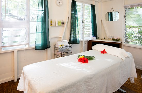 English Harbour, Antigua: Therapy Room