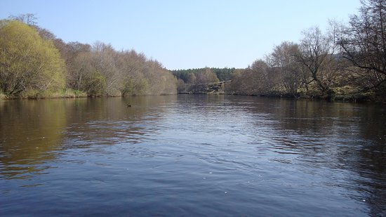 Wimborne Minster, UK: River Spey