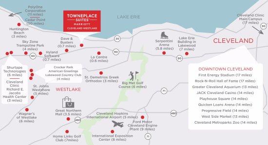 TownePlace Suites Cleveland Westlake Image