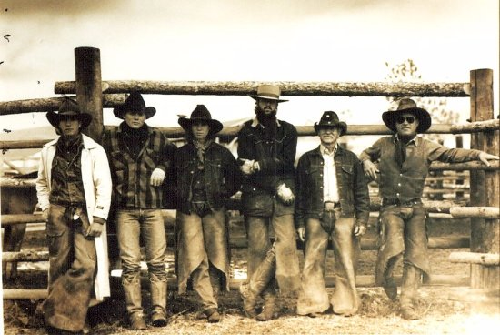 Clark, CO: Home Ranch Wranglers, a few years ago!