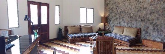 Hostal Garden by Refugio del Rio: Our reception