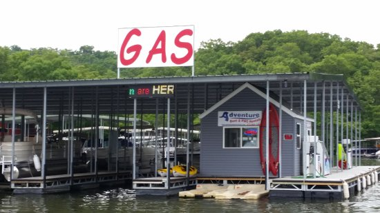 Adventure Boat Rentals: Our new location in the same cove we've been in for years.  Take Hwy W to W-15 & follow the sign
