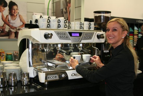 Vilshofen, Tyskland: Pizzeria Cappuccini