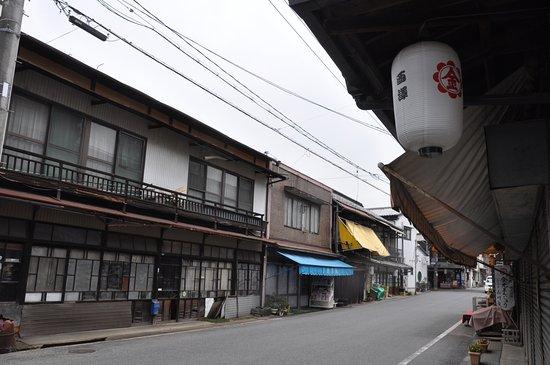 Asakuchi, اليابان: 落ち着いた町並みを形成
