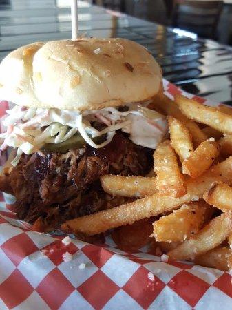 Lee's Summit, MO: BBQ Pulled Pork Sandwich