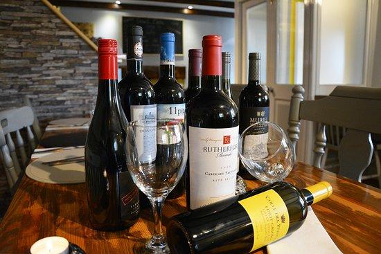 Glandore, Irland: Wine Selection