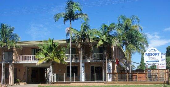 Huskisson, Australien: Resort front