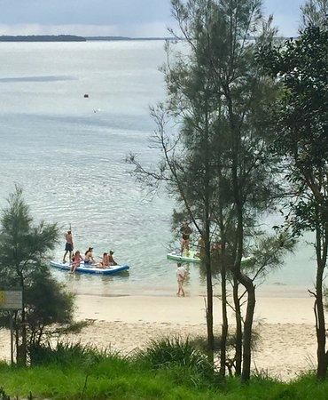 Huskisson, Australia: prime location for beach fun - 200 metres from reception door