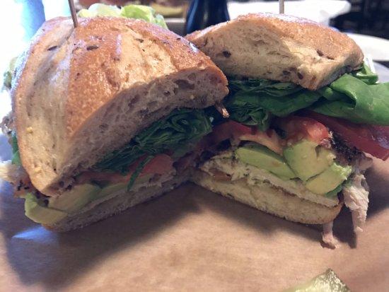 Brighton, MI: Vegetarian sandwich