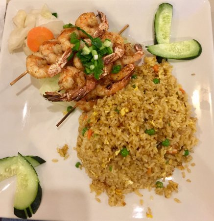 Haltom City, TX: Shrimp and fried rice