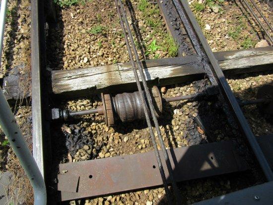 Dubuque, IA: Funicular Track Roller
