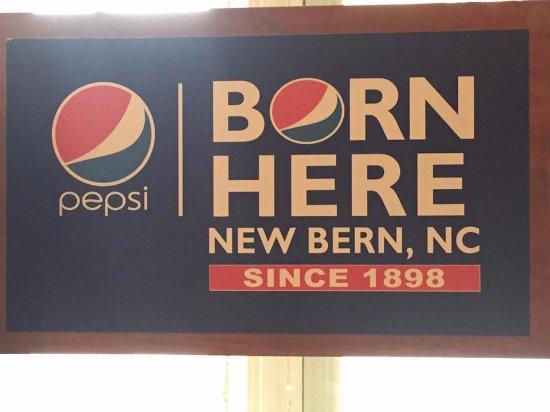 New Bern, NC: sign