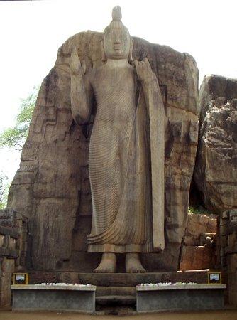 Provincia Centro-Settentrionale, Sri Lanka: Avukana Buddha Statue
