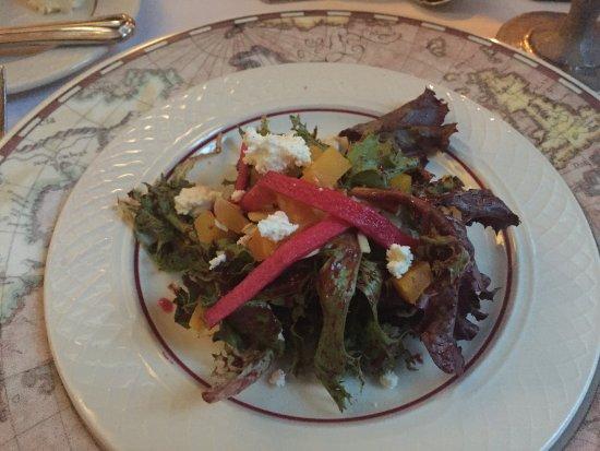 Inn & Spa At Cedar Falls Restaurant: 6 course meal