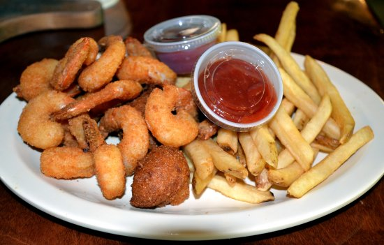 Anniston, AL: Fried Gulf shrimp