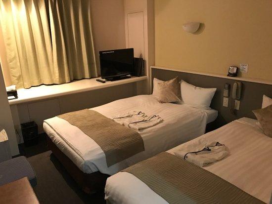 Hotel Area One Okayama: 房間是這樣