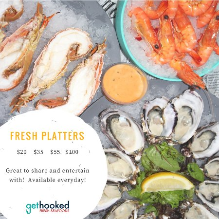 Tweed Heads, Austrália: Fresh Seafood Platters starting at $20 up to $100