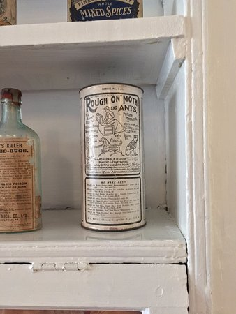 Stabler-Leadbeater Apothecary Museum: from a display downstairs of items the store would have sold.